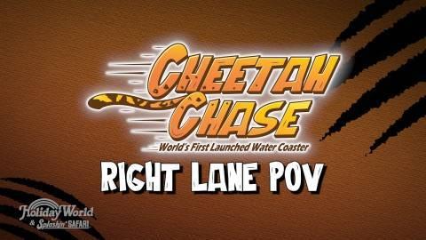 Holiday World + Cheetah Chase: Right Lane POV