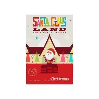 Santa Claus Land Sticker