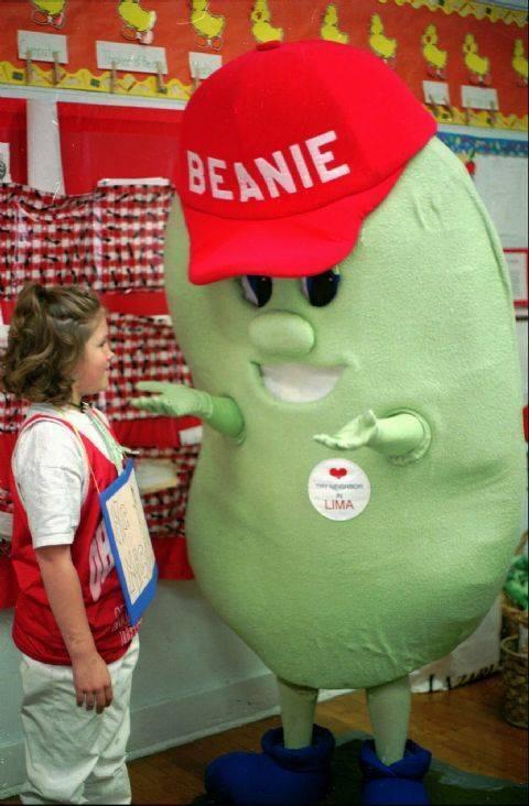 Beanie the lima bean