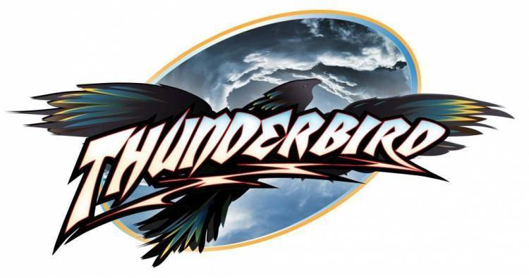 Early Thunderbird logo