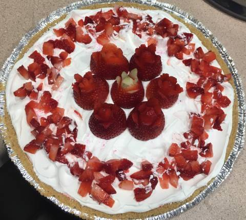 Rentz's strawberry pie