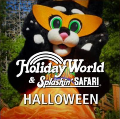 Holiday World's Halloween Spotify Playlist