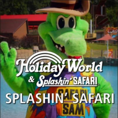 Holiday World's Splashin' Safari Spotify Playlist