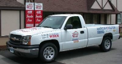 Contest prize: truck